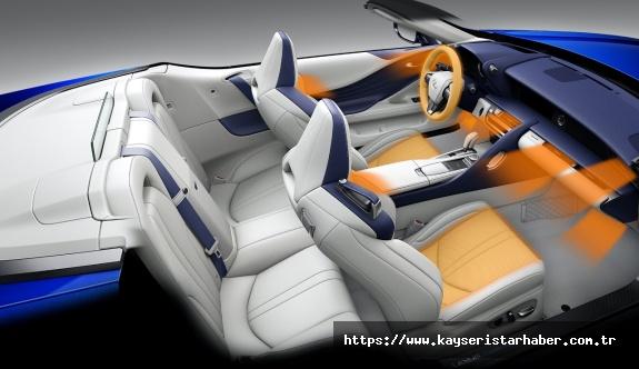 Lexus Konforu ve Lüksü Üstü  Açılan LC Convertible'da