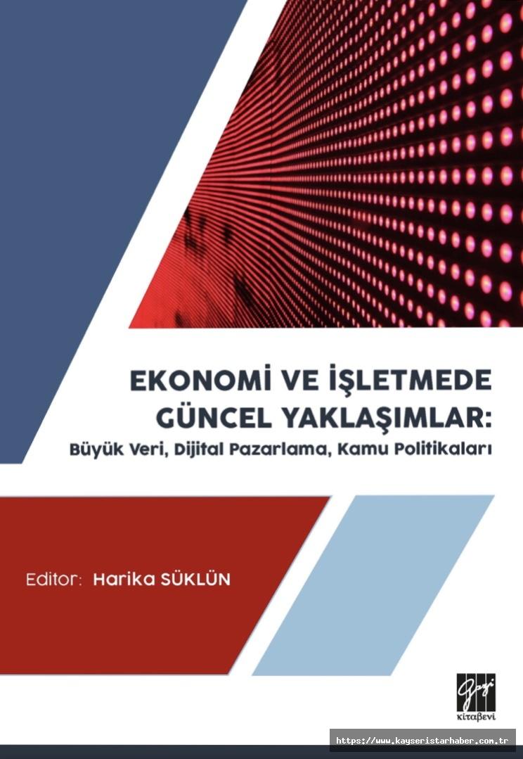 Öğretim üyelerinden Uluslararası kitap