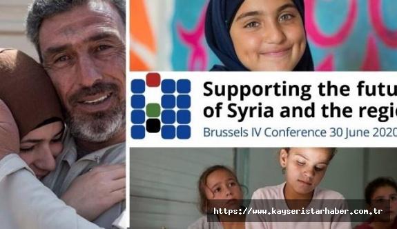 """Suriye krizi: """"Suriye ve Bölgenin Geleceğine Destek"""" başlıklı IV. Brüksel Konferansı"""