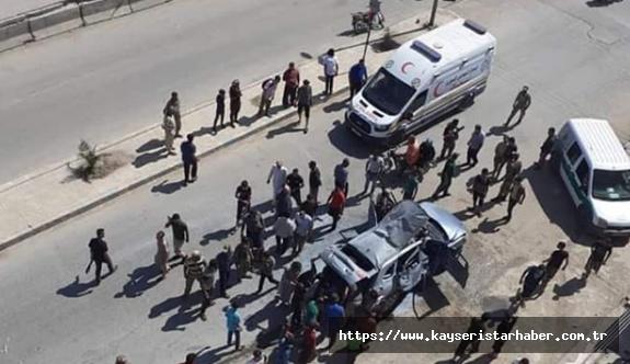 Afrin'de bombalı saldırı: 1 ölü