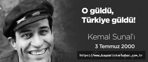 Büyük usta Kemal Sunal'ı rahmetle anıyoruz