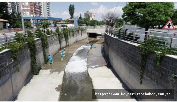 Kanallar temizleniyor