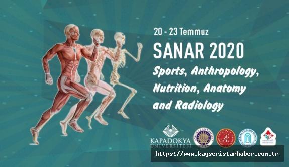 Kapadokya Üniversitesi Uluslararası SANAR2020 Kongresine Ev Sahipliği Yaptı