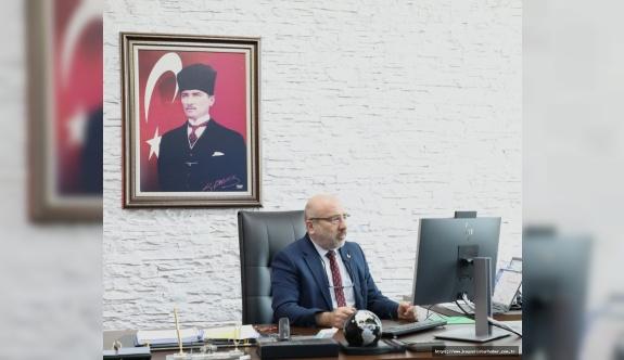 Karamustafa 'Study in Turkey YÖK Virtual Fair 2020' de