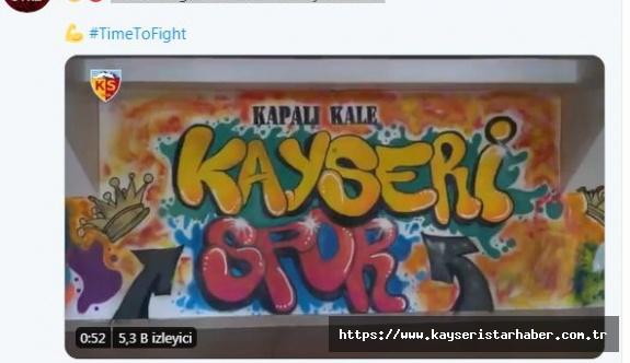 Kayserispor'dan 'Time to fight' koreografisi!