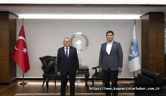 Kütüphaneler ve Yayımlar Genel Müdürü Kayseri'de