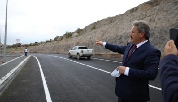 Melikgazi, asfaltta da rekor kırdı