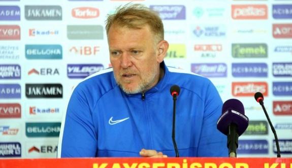 Prosinecki: Ligde kalacağımızı söylemiştik