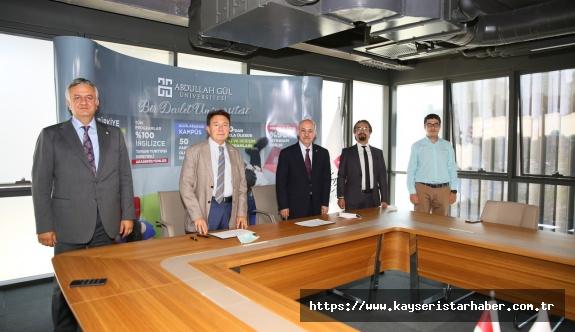 AGÜ, Doğa Koleji ile Eğitim Hizmeti Anlaşması İmzaladı