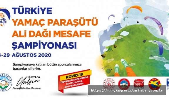 Ali Dağı markasıyla Türkiye şampiyonası