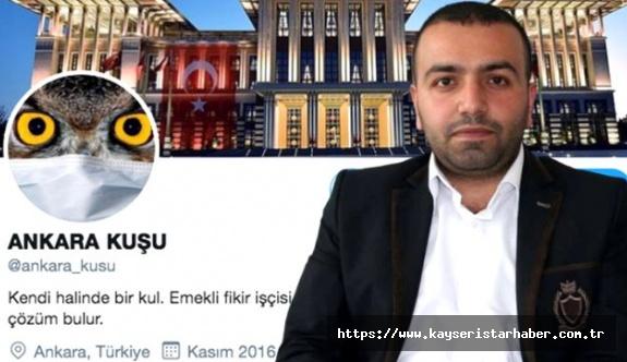 """""""Ankara Kuşu"""" isimli Twitter hesabının sahibi Oktay Yaşar tahliye edildi"""