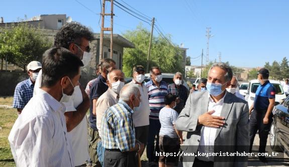 Başkan Yalçın, Süleymanlı ve Sakaltutan'da vatandaşlarla bir araya geldi