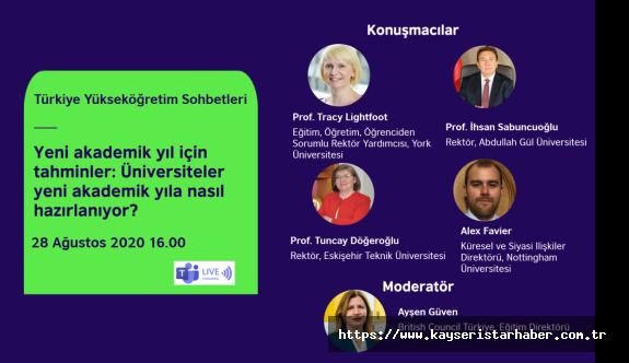"""British Council'in """"Türkiye'de Yükseköğretim Sohbetleri"""" Webinarları"""