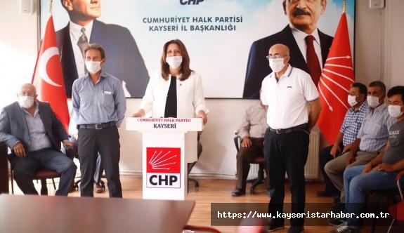 CHP'li Ümit Özer: 'Yerli ve milli olduğunu iddia edenler bu ülkenin üreticisini üretimden kopartıyor'