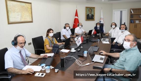 """ERÜ'de """"uzaktan eğitim çalıştayı"""" düzenlendi"""