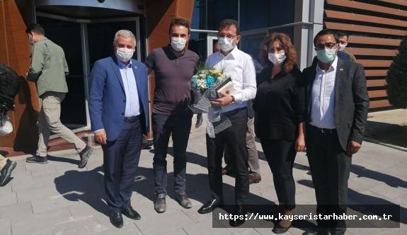İmamoğlu Kayseri'de ağırlandı