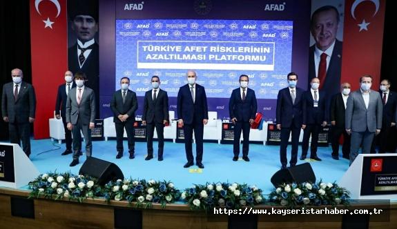 Jandarma ile değerlendirme ve Türkiye Afet Risklerinin Azaltılması Platformu toplantısı