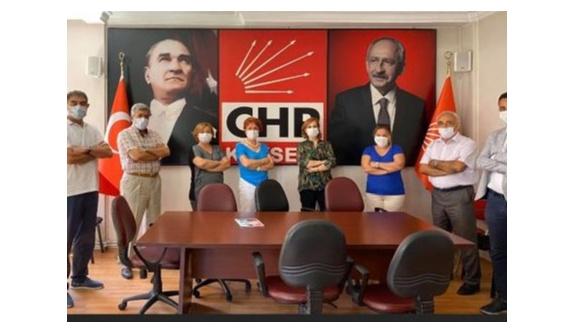 Karaoğlu'ndan CHP'ye ziyaret