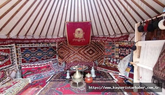 Kayseri 'Anadolu'nun fethi 1071'' festivalinde yerini aldı