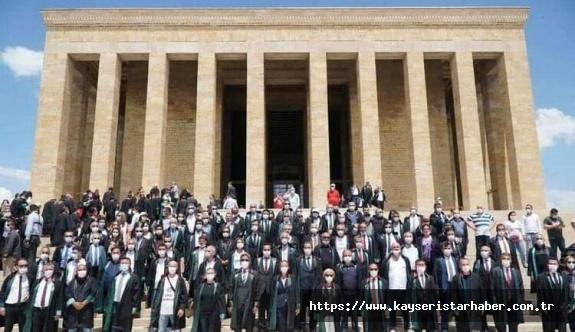 Kayseri Baro Başkanı Dursun'dan, avukat, kamuoyuna ilginç 'zorunlu' bilgilendirme ve kınama
