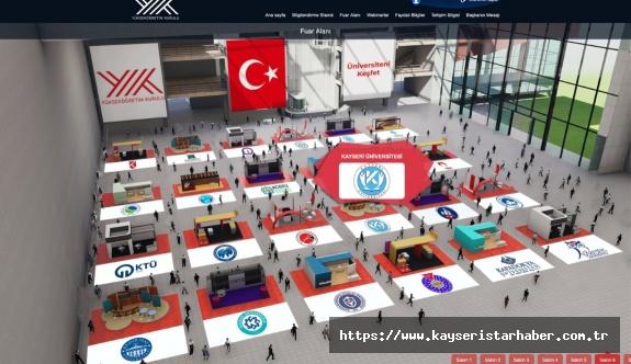 Kayseri Üniversitesi, YÖK Sanal Fuarında