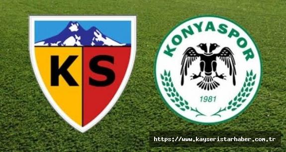 Konyaspor ile hazırlık maçı var