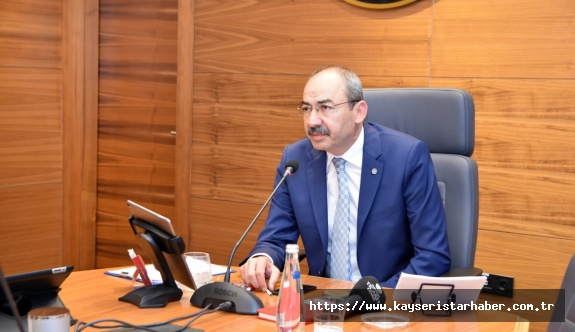 KTO'da  Ağustos Meclisi video konferansla yapıldı