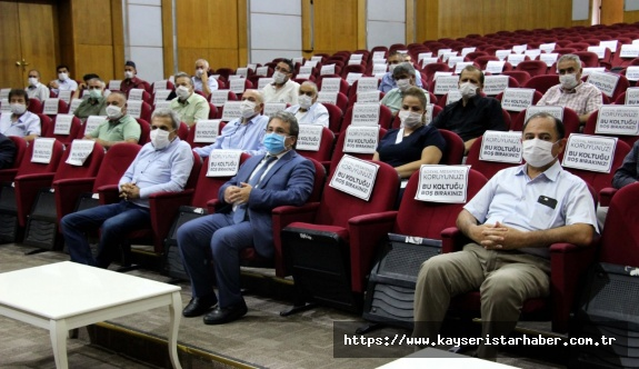 Site ve Bina Yöneticileri ile Pandemi Toplantısı