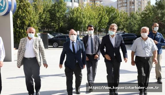 Yahyalı MYO'nun Geleceği İçin Kayseri Üniversitesi Rektörüne Üst Düzey ziyaret