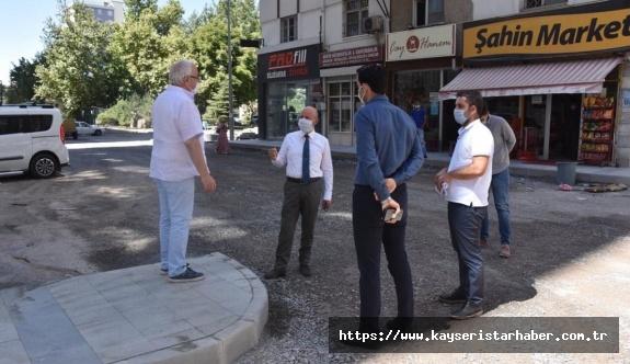 Başkan Çolakbayrakdar Sahabiye'de ki çalışmaları inceledi