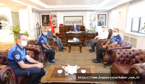 Başkan Palancıoğlu zabıta haftasını kutladı