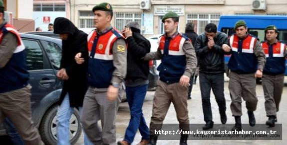 Jandarma 1 ayda 9 terör şüphelisini yakaladı