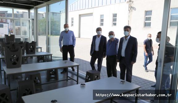 KAYSO'dan İşletmelere Korana Ziyareti