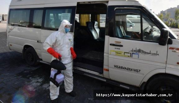 OSB'de koronavirüse tedbirleri devam ediyor