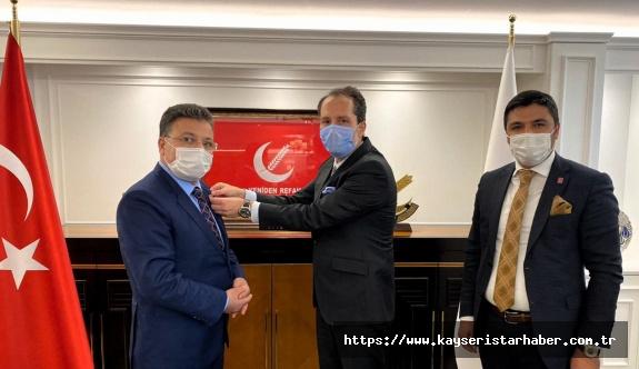 AK  Partili isim Yeniden Refah'a katıldı