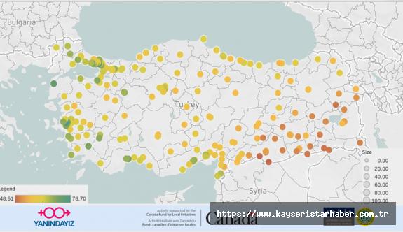 YANIDAYIZ Derneği Türkiye'de cinsiyet eşitsizliğinin röntgenini çekti