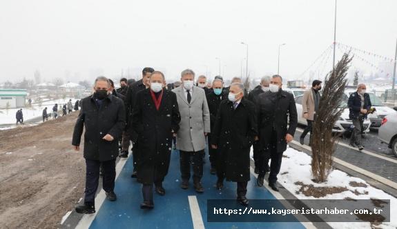 Dr. Sami İpek Bulvarı açıldı
