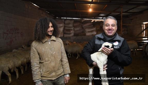 Tarım İl Müdürü Şahin'den besiciye ziyaret