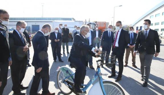 Büyükşehir'den Yeni Bir Akıllı Bisiklet Paylaşım Sistemi