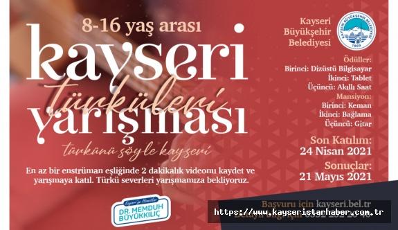 Büyükşehir'in Kayseri Türküleri Yarışmasına Başvurular Sürüyor