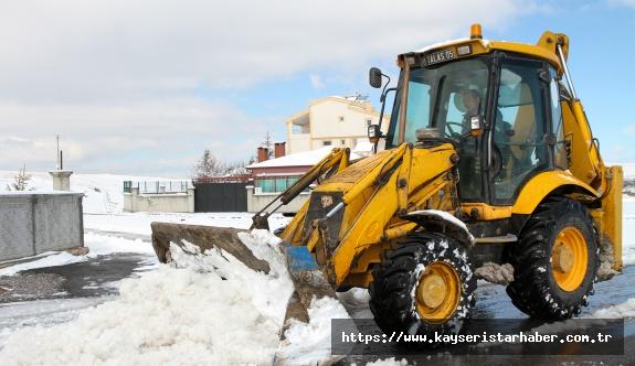 Talas'ta Kış Çalışmaları Yeniden Başladı