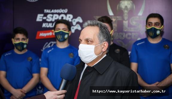 Talas'tan Bir İlk Daha:  Kayseri'nin İlk Lisanslı E-Spor Kulübü
