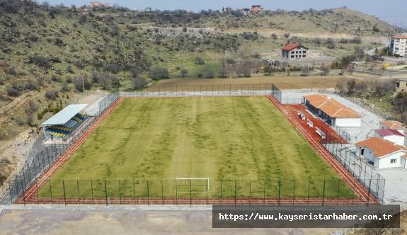 Hacılar Fevzi Mercan Stadyumu Açılışa Hazır