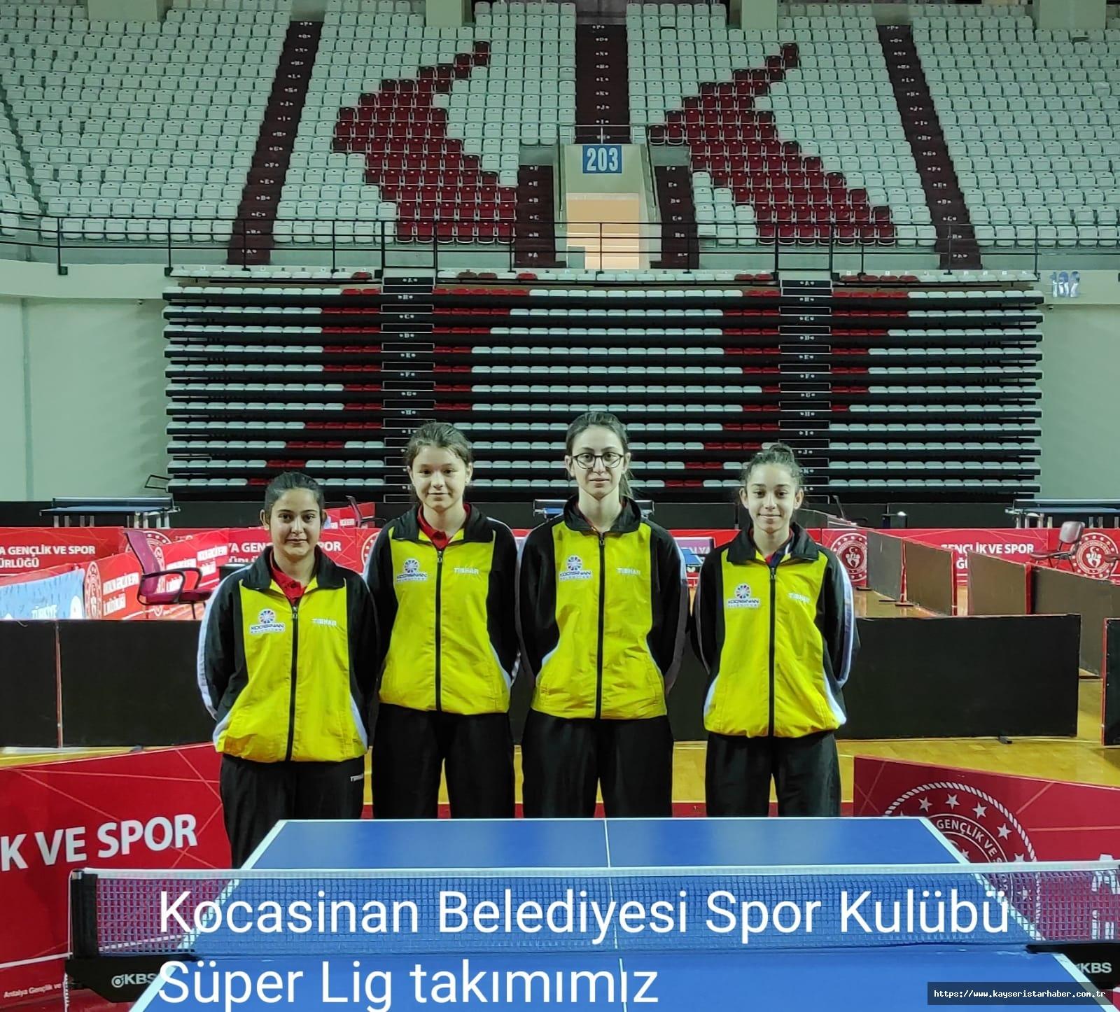 Kocasinan, Süper Lig Ve 1.Lig'e Damga Vurdu