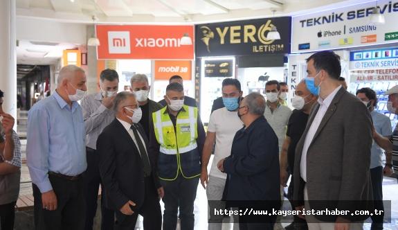 """Büyükşehir'den Yeraltı Çarşısı'nda 10 Milyon TL'Lik """"Modern"""" Çalışma"""