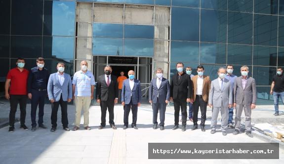 Kayseri Milletvekili İsmail Tamer'in Develi Ziyareti