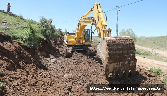 Talas' ın Kırsalında Hummalı Çalışmalar