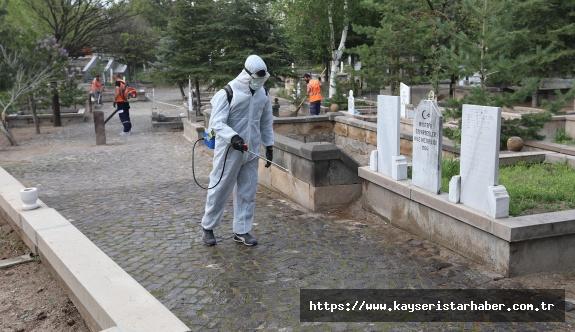 Talas' ta Mezarlıklara Özel  Çalışma