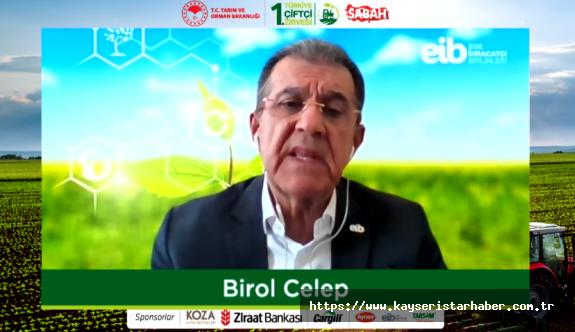 EİB, Döngüsel Katma Değer Akımı İle Tarım İhracatını 5,5 Milyar Dolara Çıkaracak