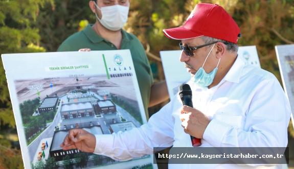 Başkan Yalçın'dan Muhtarlara Proje Ve Yatırım Brifingi